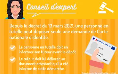 Les règles pour la délivrance de la carte nationale d'identité (CNI) des personnes bénéficiant d'une mesure de tutelle ont changé